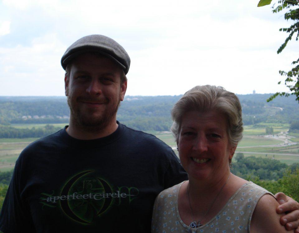 Me and Ryan in Cincinnati