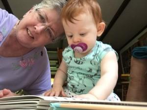 Mimi Kate Reading To Violet