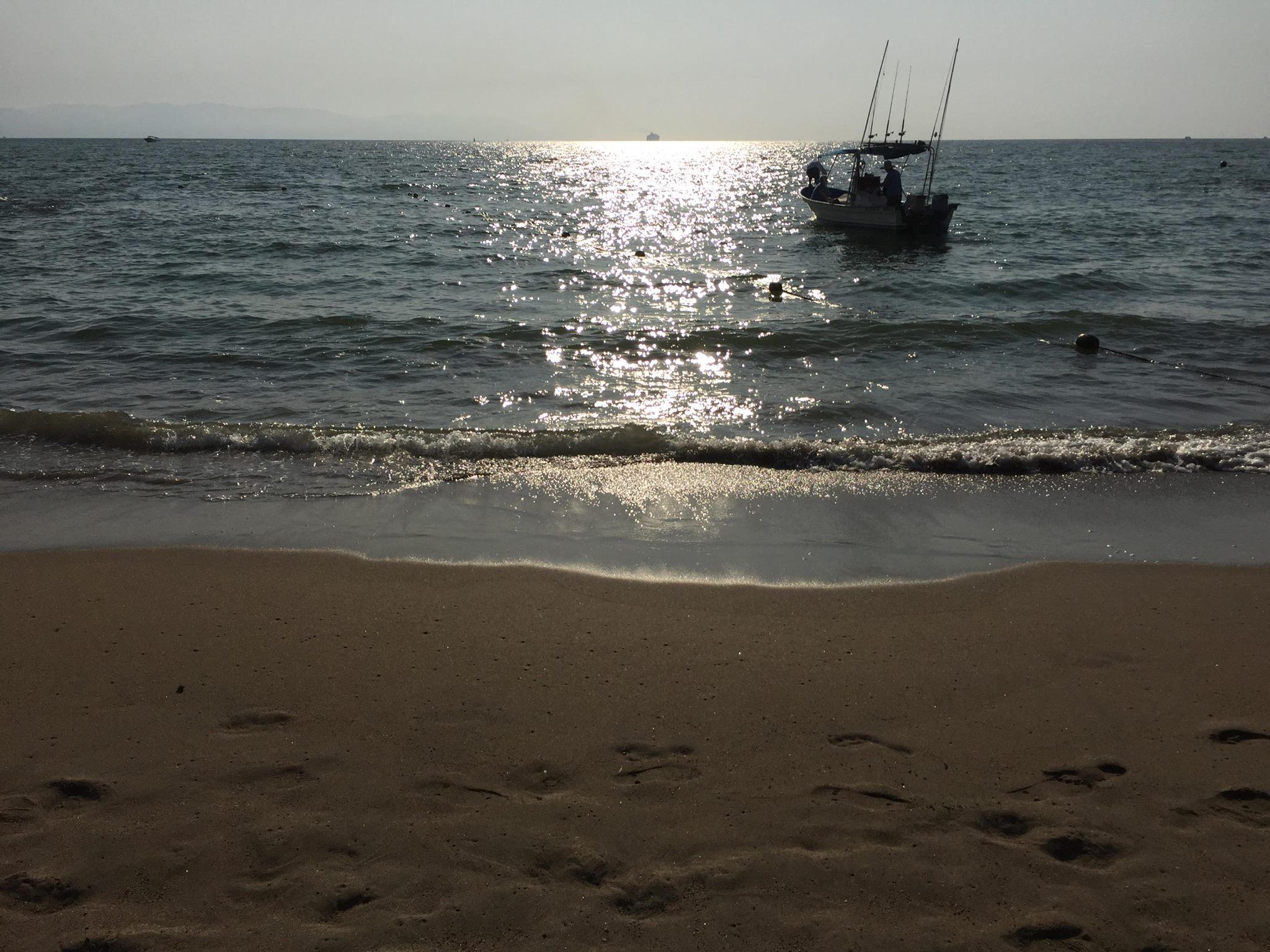 Beautiful Beach at Puerto Vallarta